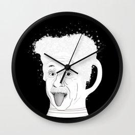 The Ein Stein Wall Clock