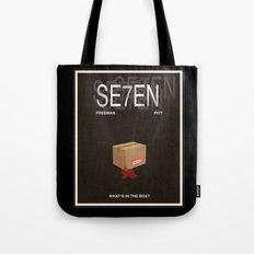 Seven Movie Poster Tote Bag