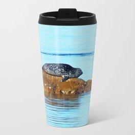 Seal pup waves to mom Travel Mug