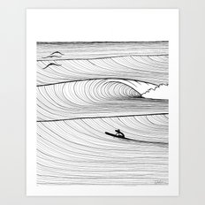 Solo Session Art Print
