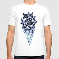 The Epidemic Of Love  MEDIUM Mens Fitted Tee White