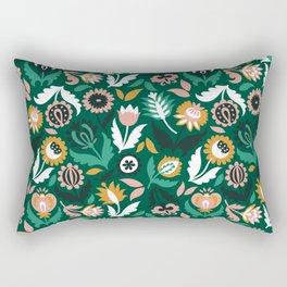 Floral print Rectangular Pillow