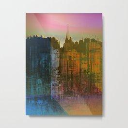 Lights close to the Harbor / Urban Fantasy 14-01-17 Metal Print