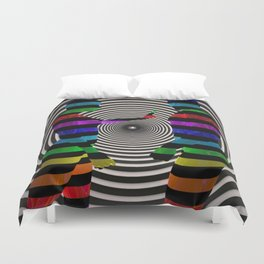 Dissension-3D Art Duvet Cover