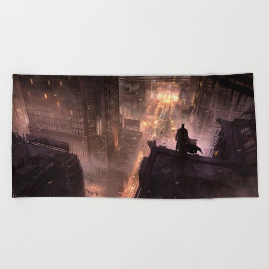The Dark Knight Beach Towel