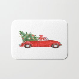 Christmas Car Bath Mat