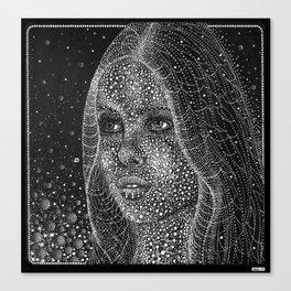 Cal(endar) Girl 10 Canvas Print