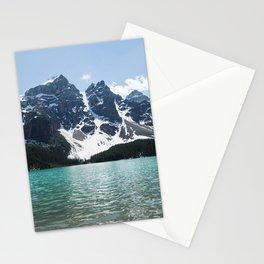 Landscape Lake Moraine Mountains Stationery Cards
