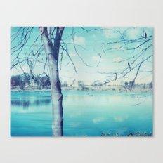 Hunter Valley Gardens Polaroid Canvas Print
