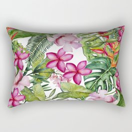 Tropical Garden 3 Rectangular Pillow