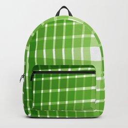 Green Grid Backpack