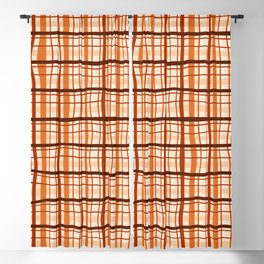 Abstract warm color bumpy lines background - DDE618 Blackout Curtain