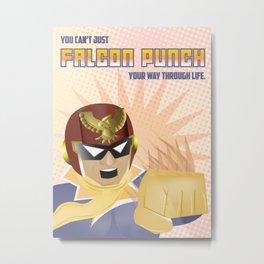 Falcon Fortune Metal Print