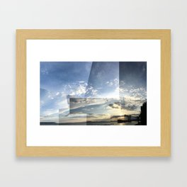 Seattle Sky Framed Art Print