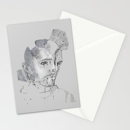 Face Map Stationery Cards