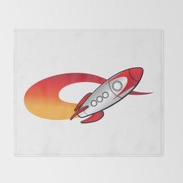 Rocket Ride Throw Blanket