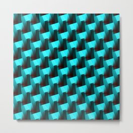 Geometrically Speaking... Metal Print
