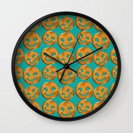 Keep Smiling Chips Wall Clock