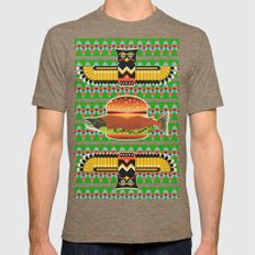 Alaska Burger Tri-Coffee Mens Fitted Tee X-LARGE