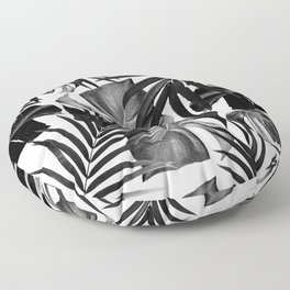Tropical Jungle Leaves Pattern #10 #tropical #decor #art #society6 Floor Pillow