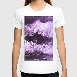 Amethyst Crystal Cave T-shirt