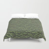 wave Duvet Covers featuring Wave by Keagraphics