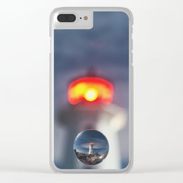 Drop of Glass Clear iPhone Case