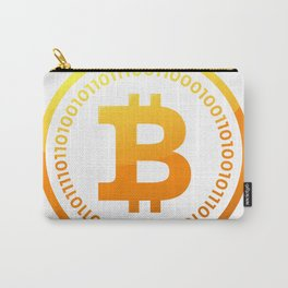 BITCOIN Symbol CRYPTO Carry-All Pouch