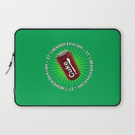 It's Heaven in a Can Laptop Sleeve