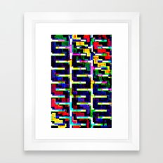 Rainbow Snake no.2 Framed Art Print
