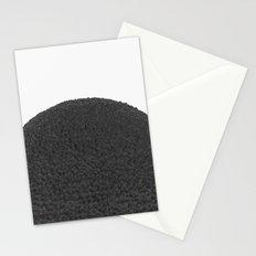 Black sphere Stationery Cards