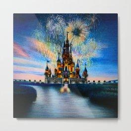 Castle by Gabriella Livia Metal Print
