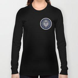 'El Presidente' AVID Official Seal (Senior 2014) Long Sleeve T-shirt
