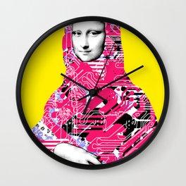 Mona Lisa Platina 6 Wall Clock