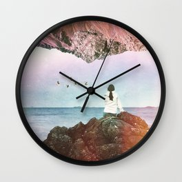 The Illusion Of Yesterday Wall Clock