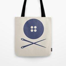 BUTTON SKULL Tote Bag
