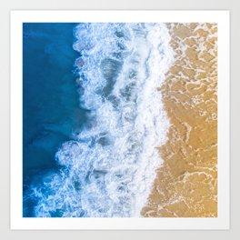 Coast 6 Art Print