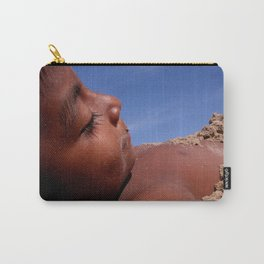Wittos (Blue) Little Indian Sand Boy  Carry-All Pouch