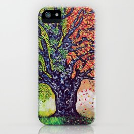 'A Tree For All Season' iPhone Case
