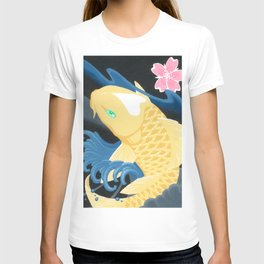 Love Koi Pastel Yellow T-shirt
