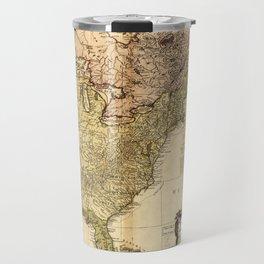 The United States of North America Map (1784) Travel Mug