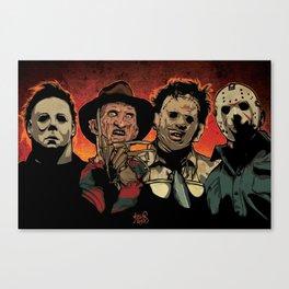 Horror Flick Canvas Print