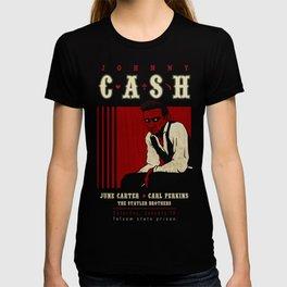 Cash Live at Folsom Prison T-shirt