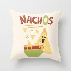 NachOs Throw Pillow
