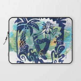 Summer Shredding Laptop Sleeve