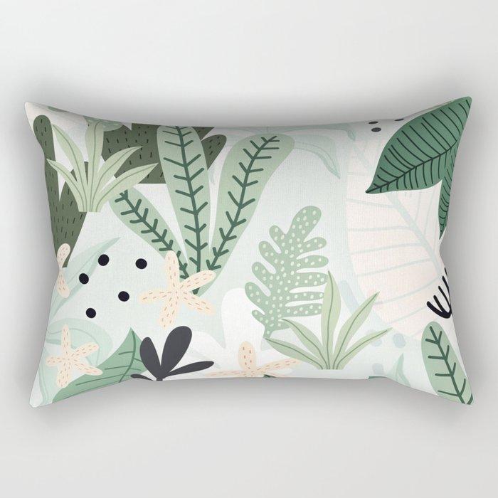 Into the jungle II Rectangular Pillow