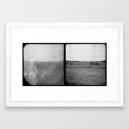 Oklahoma City, OK Framed Art Print