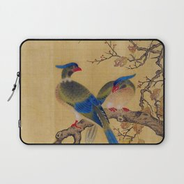 Birds on Branches square Laptop Sleeve