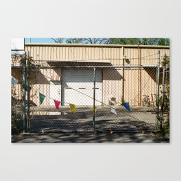 Party Fence Canvas Print