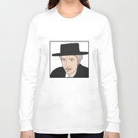 bob dylan Long Sleeve T-shirts featuring Bob Dylan by Whiteland